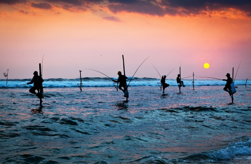 This month we're off to... Sri Lanka